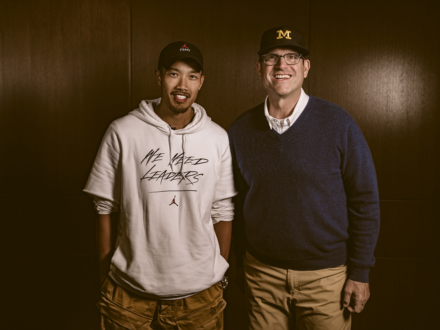 Jim Harbaugh & Dao-Yi Chow